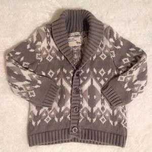 Oshkosh Knitted Cardigan - button up sweater